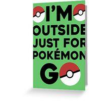 Pokémon Go 1 Greeting Card