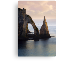 The Aval Door in Etretat  France  Canvas Print