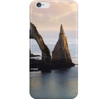 The Aval Door in Etretat  France  iPhone Case/Skin