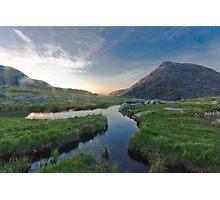 Cwn Idwal, Snowdonia Photographic Print