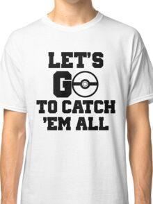 Pokémon Go 3 Classic T-Shirt