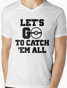 Pokémon Go 3 Mens V-Neck T-Shirt