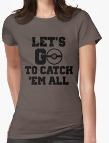 Pokémon Go 3 Womens Fitted T-Shirt