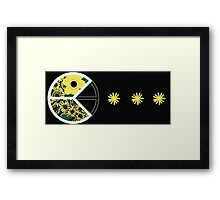 Peaceman Framed Print