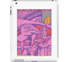 two minutes late iPad Case/Skin