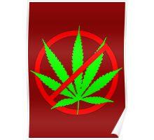 marijuana no Poster