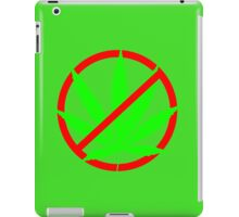 marijuana no iPad Case/Skin
