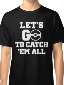 Pokémon Go 4 Classic T-Shirt