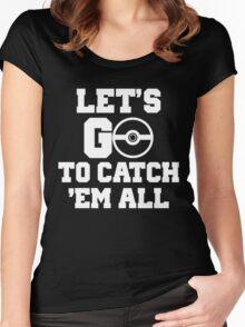 Pokémon Go 4 Women's Fitted Scoop T-Shirt