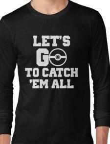 Pokémon Go 4 Long Sleeve T-Shirt
