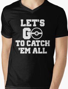 Pokémon Go 4 Mens V-Neck T-Shirt