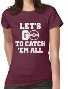 Pokémon Go 4 Womens Fitted T-Shirt