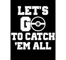 Pokémon Go 4 Photographic Print