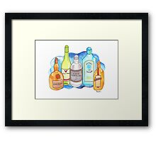 Drinks Cabinet Framed Print