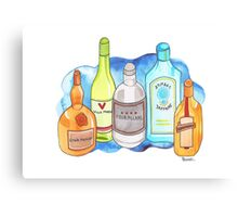 Drinks Cabinet Canvas Print