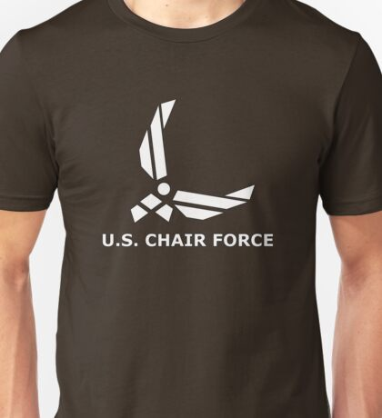CHAIR FORCE Unisex T-Shirt
