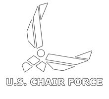 CHAIR FORCE Photographic Print