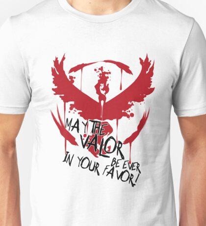 VALOR!!!!!!!! Unisex T-Shirt