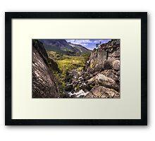 Snowdonia, North Wales Framed Print