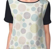 Swirl pattern Chiffon Top