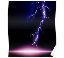 Lightning - very, very frightening Poster