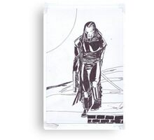 shadow assassin Canvas Print