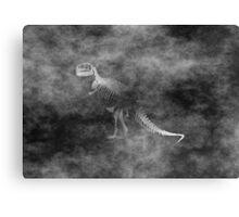 Tyrannosaurus Rex Grunge style Canvas Print