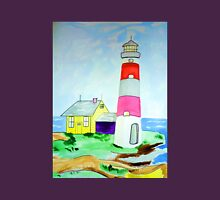 Lighthouse and adjacent house for the keeper's family Unisex T-Shirt