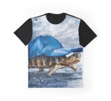 Cool Turtle Graphic T-Shirt