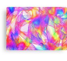 scarf colours Canvas Print