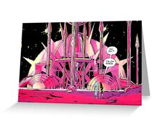 Watchmen Mars Greeting Card