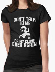 Shaco meme 2 Womens Fitted T-Shirt