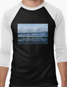 Storm is Coming - Turbulent Sky and Yachts Men's Baseball ¾ T-Shirt