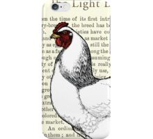 Brahma Rooster Vintage Collage iPhone Case/Skin