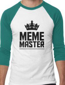 Meme Master Men's Baseball ¾ T-Shirt