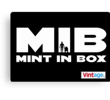 MIB - MINT IN BOX R2D2 & C3PO Palitoy Vintage Style Canvas Print