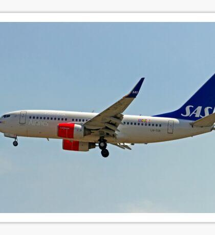 LN-TUK SAS Boeing 737 Next Gen  Sticker