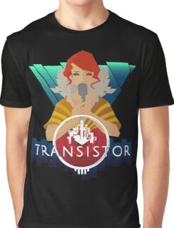 Transistor red Graphic T-Shirt