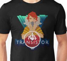 Transistor red Unisex T-Shirt