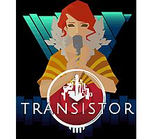 Transistor red Photographic Print