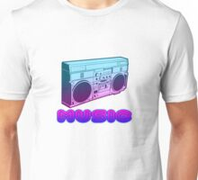 80s Music art style Unisex T-Shirt