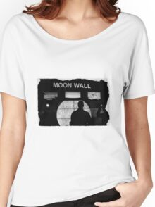 Moon Wall Women's Relaxed Fit T-Shirt