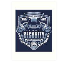 ED-209 - OCP Detroit Security - Tech Support Art Print