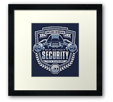 ED-209 - OCP Detroit Security - Tech Support Framed Print