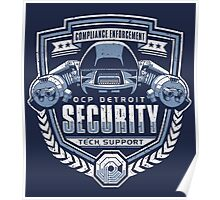 ED-209 - OCP Detroit Security - Tech Support Poster