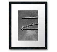 Broken Communications Framed Print