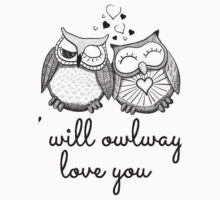 I will owlways love you by Fuchs-und-Spatz