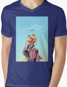 Kim Taeyeon - Why Photoshoot #1 Mens V-Neck T-Shirt