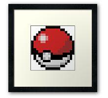 Pokemón Pokeball Framed Print