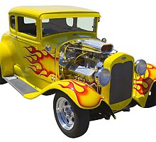 1930 Model A Custom Hot Rod by KWJphotoart